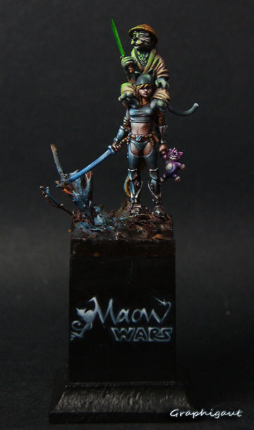 Maow wars, par Graphigaut