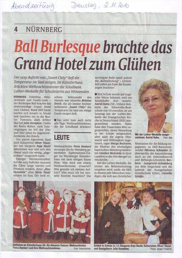 Abendzeitung, 02.11.10
