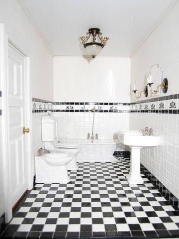 Tiled Miniature Bathroom - Art Deco