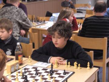 Luca mit 2 Siegen in 3 Spielen, toll!