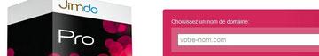 Cliquez pour créer votre site Jimdo Pro maintenant