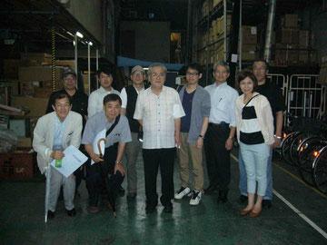 集合写真(前列左から3人目が瀬田さん)