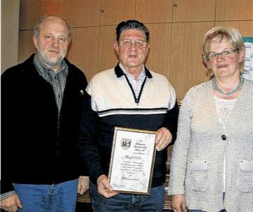 JHV 2011 - Ewald Kiesel - Ehrenvorsitzender