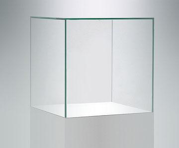 Weißglas, Optiwhite, Vitrine, Haube nach Maß, Glashaube nach Maß