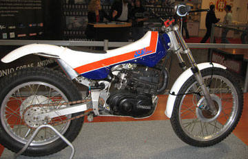 JJCobas trial con motor Bultaco - foto todotrial.com