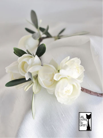 オリーブ スウィートオールド 花かんむり