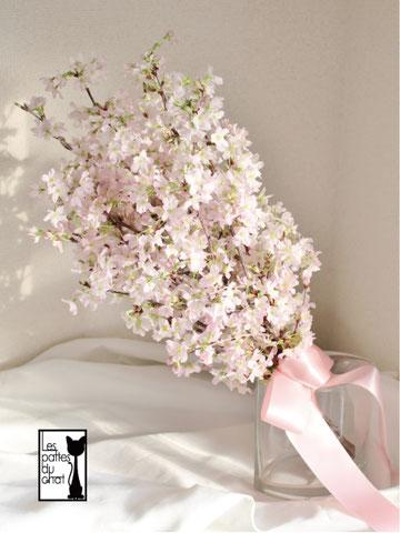 クラッチブーケ 生花 桜