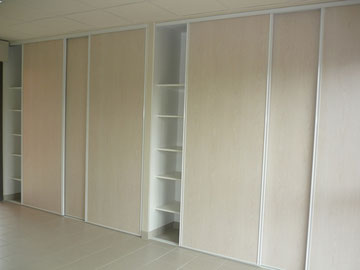 Dressing pour agencement Menuiserie LETHU