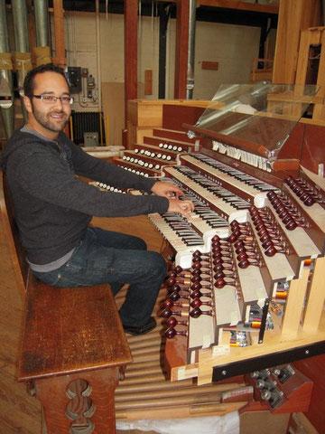Atelier Casavant, septembre 2010