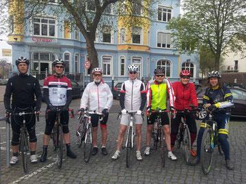 Am Start. Bild: Solling-Eule Jörg