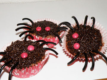 Foto: http://www.i-ellis.nl/2011/10/spider-cup-cakes