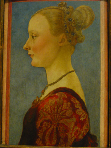 'Portrait of a Woman', Piero del Pollaiuolo (Piero di Jacopo Benci), mid 1470s, The Metropolitan Museum of Art. picture taken by Nina Möller