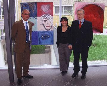 vernissage 2005 in der caritasklinik saarbrücken
