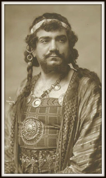 Camille Saint-Saëns SAMSON ET DALILA (Samson) - Metropolitan N.Y. 15-11-1915
