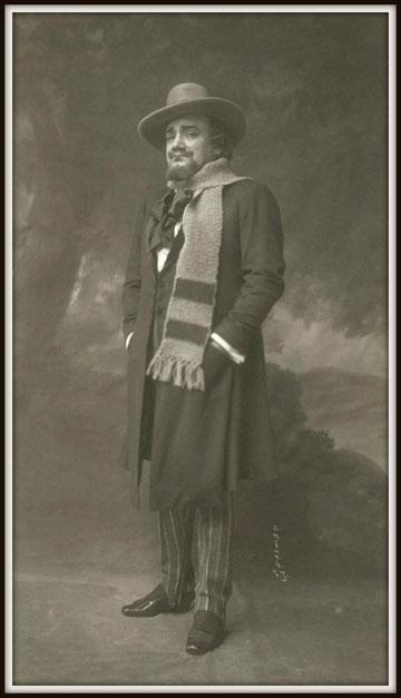 Giacomo Puccini LA BOHÈME (Rodolfo) - Metropolitan N.Y. 19.11.1915