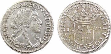 Variante con REDEM  MEVS senza punto al rovescio. Ex iNumis 16-10-2011 Lotto 1512, 155 Euro