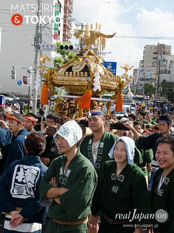 牛嶋神社大祭 2012年(平成24年) 9月  ⓒreal Japan 'on