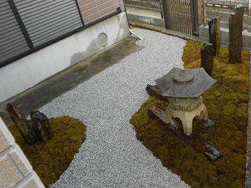 庭園改修工事@奈良県香芝市