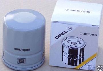 Opel Sintra 2.2 GLS und 3.0 CD Ölfilter