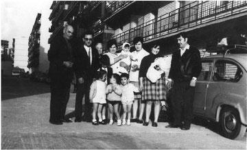 Fotografía hecha por Rufino en la Calle Vizcaya 22, año 70 aproximadamente