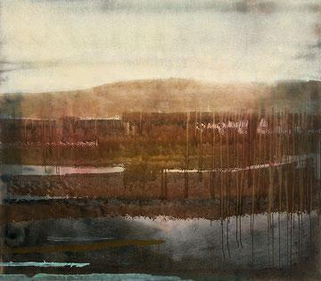 Wasteland 2012 Tempera auf Segeltuch 170 x 190 cm