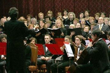 concerto Natale 2005 corale le voci dei berici