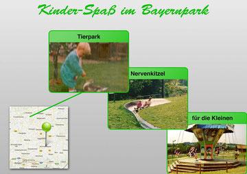 Kinder-Spaß im Bayernpark