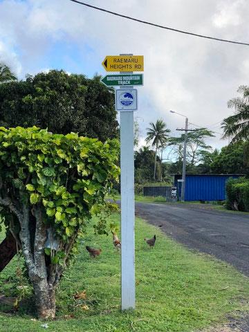 Raemaru Heights Road, Raemaru track, Raemaru Rarotonga
