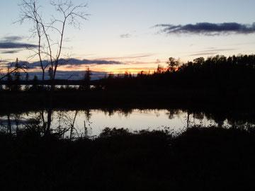 Abendstimmung/Ontario