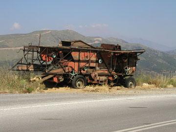 .... irgendwo am Straßenrand/Kreta