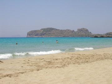 feinsandige Strände im Süden/Kreta