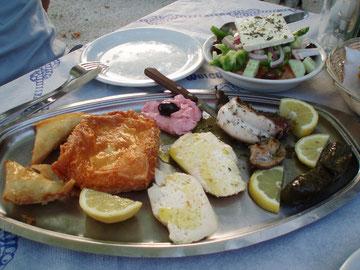 Meze - griechische Vorspeisen