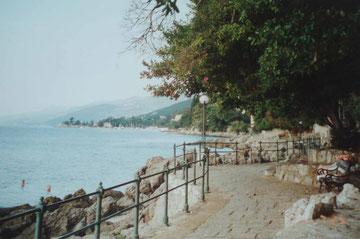 Lungomare - Uferpromenade