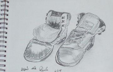 Stefan´s alte Schuhe