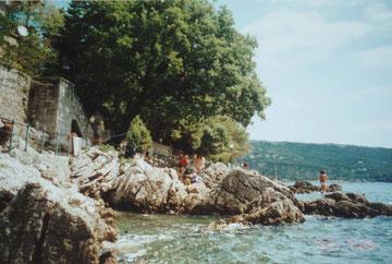 Uferpromenade zwischen Volosko und Opatija