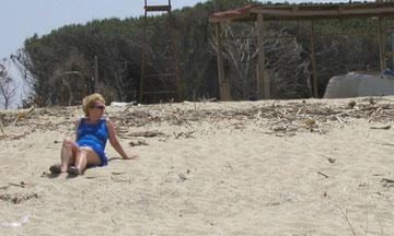 Strand in der Nähe von Siderno