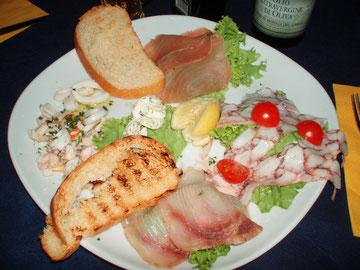 Abendessen in Torbole