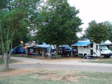 unser Camping-Platz