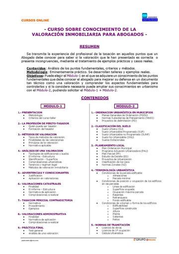 PROGRAMA CURSO PARA ABOGADOS