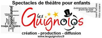 Spectacles de théâtre pour enfants - LES GUIGNOLOS - troupe de théâtre jeune public