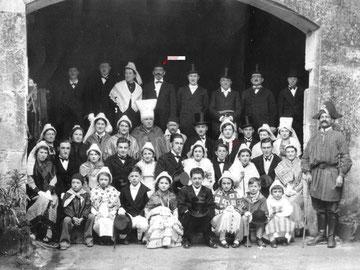 14 mars 1937 Noce villageoise à Luchac