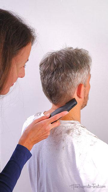 konturen haarschneidemaschine test