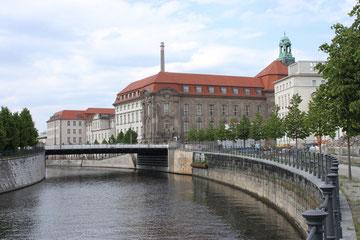 Standort des ehemaligen Invalidenhauses am Berlin-Spandauer Schifffahrtskanal