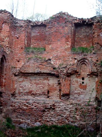 2004 г Gerdauen-Schloss внутри