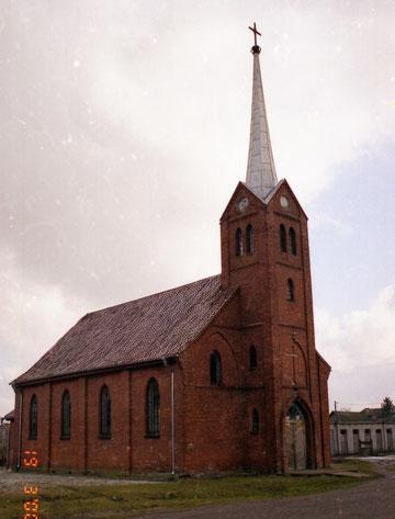 Kreutzingen-Большаково. Капелла  передана  католической церкви.