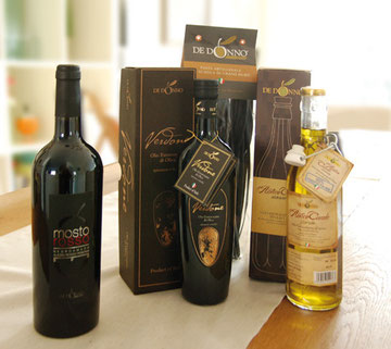 Produkte DeDonno Puglia, Apulien