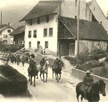 Zehntenstock (während des 2. Weltkriegs)