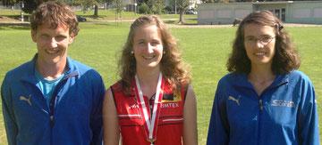 Christof, Martina und Christine (von links nach rechts)
