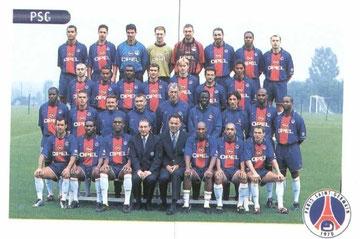 N° 211 et 212 - Equipe PSG