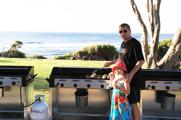 Barbeque am Yallingup Beach